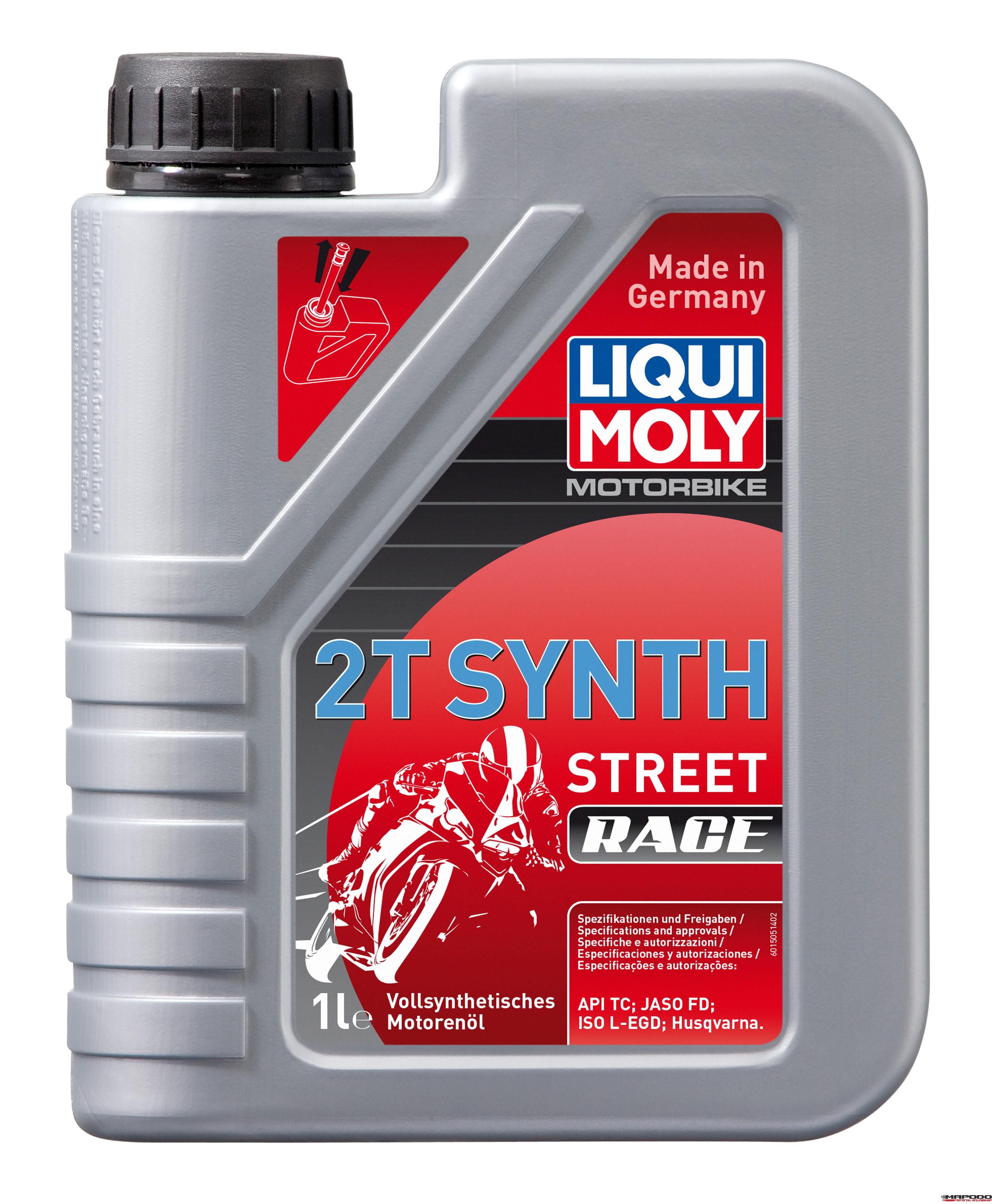 Liqui Moly 1505 Motorbike 2T Synth Street Race 1L