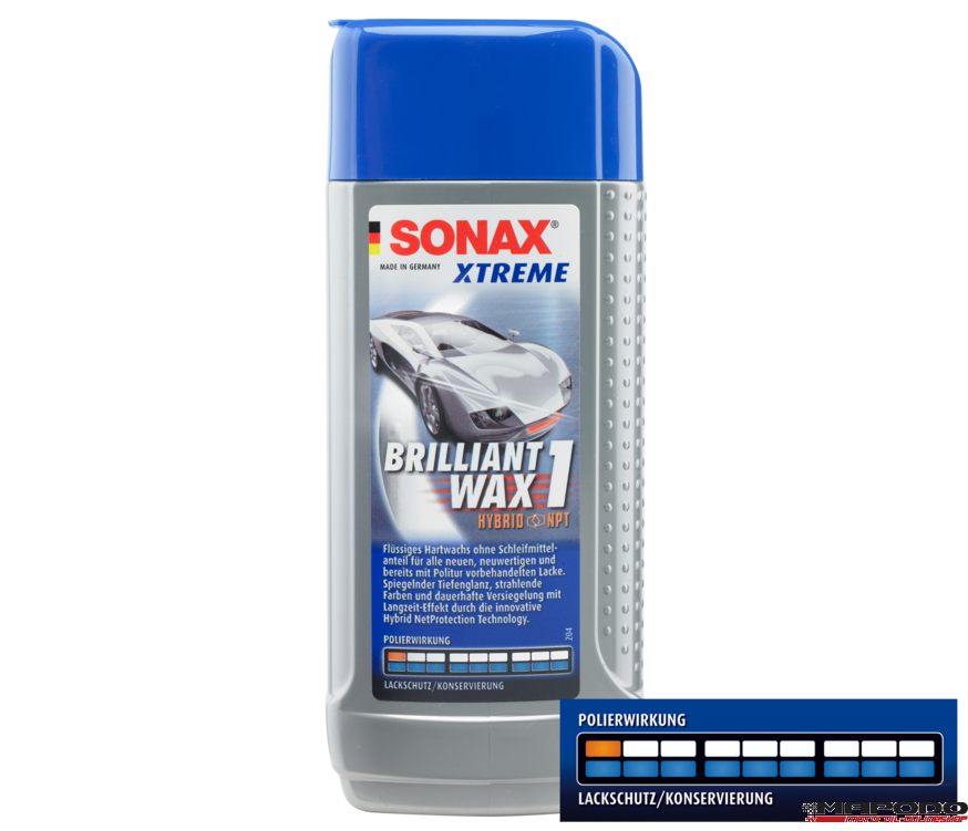 SONAX XTREME Brilliant Wax 1 Hybrid NPT | 250 ml