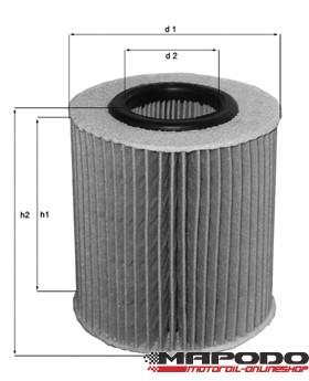 OX 368 D1 ECO Ölfilter Einsatz