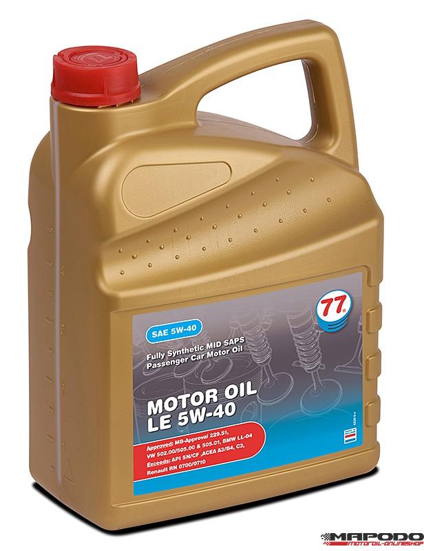 Lubricants77, Motoröl LE 5W-40, BMW, MB, Ford