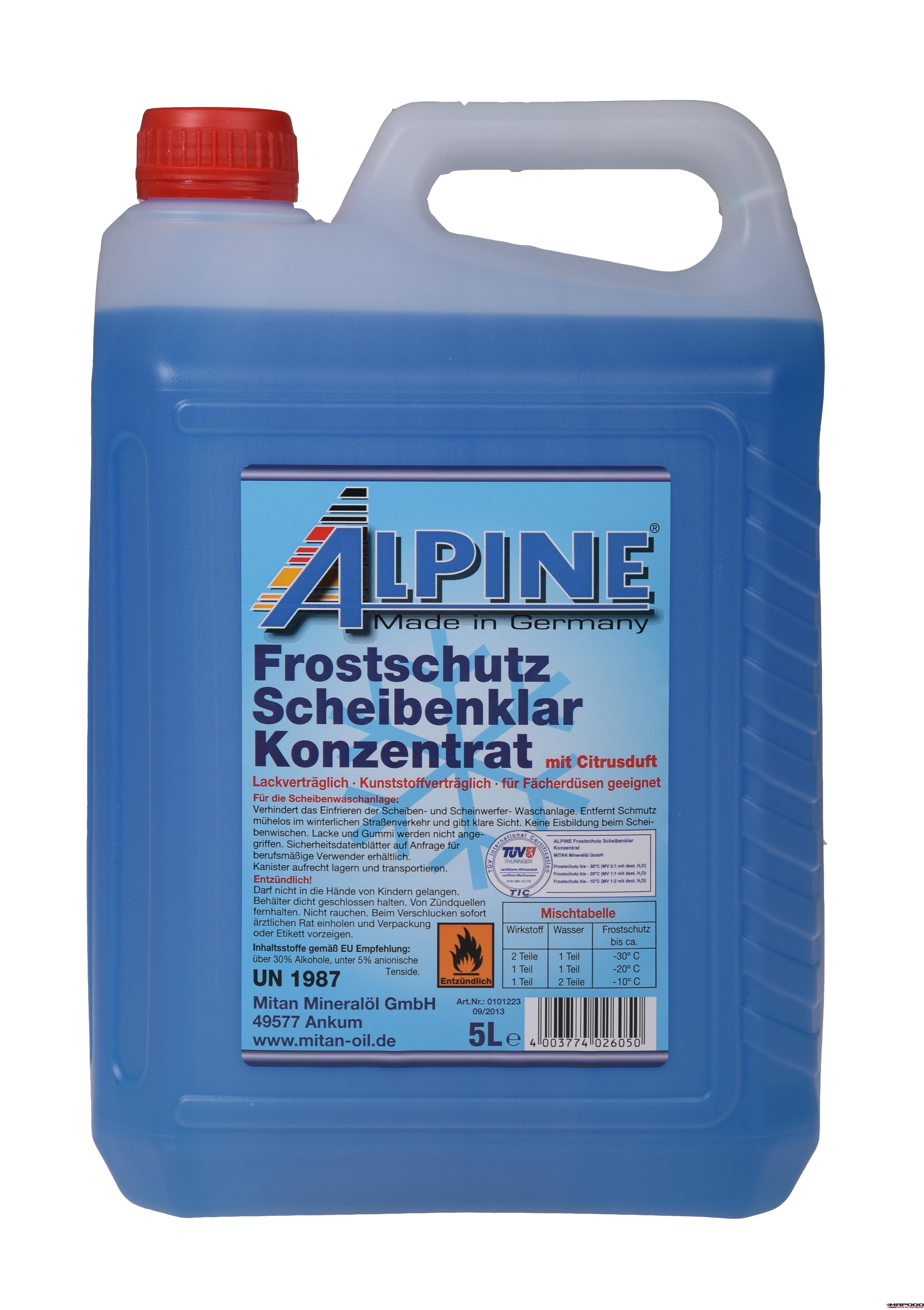 Alpine Winter.Scheibenfrostschutz