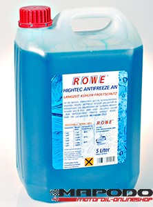 ROWE Hightec ANTIFREEZE AN (Blau) | 5 L