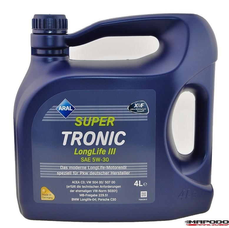 ARAL Super Tronic LongLife 3 | 5W-30 | 4 ltr.