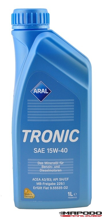 Aral Tronic 15W-40 1L