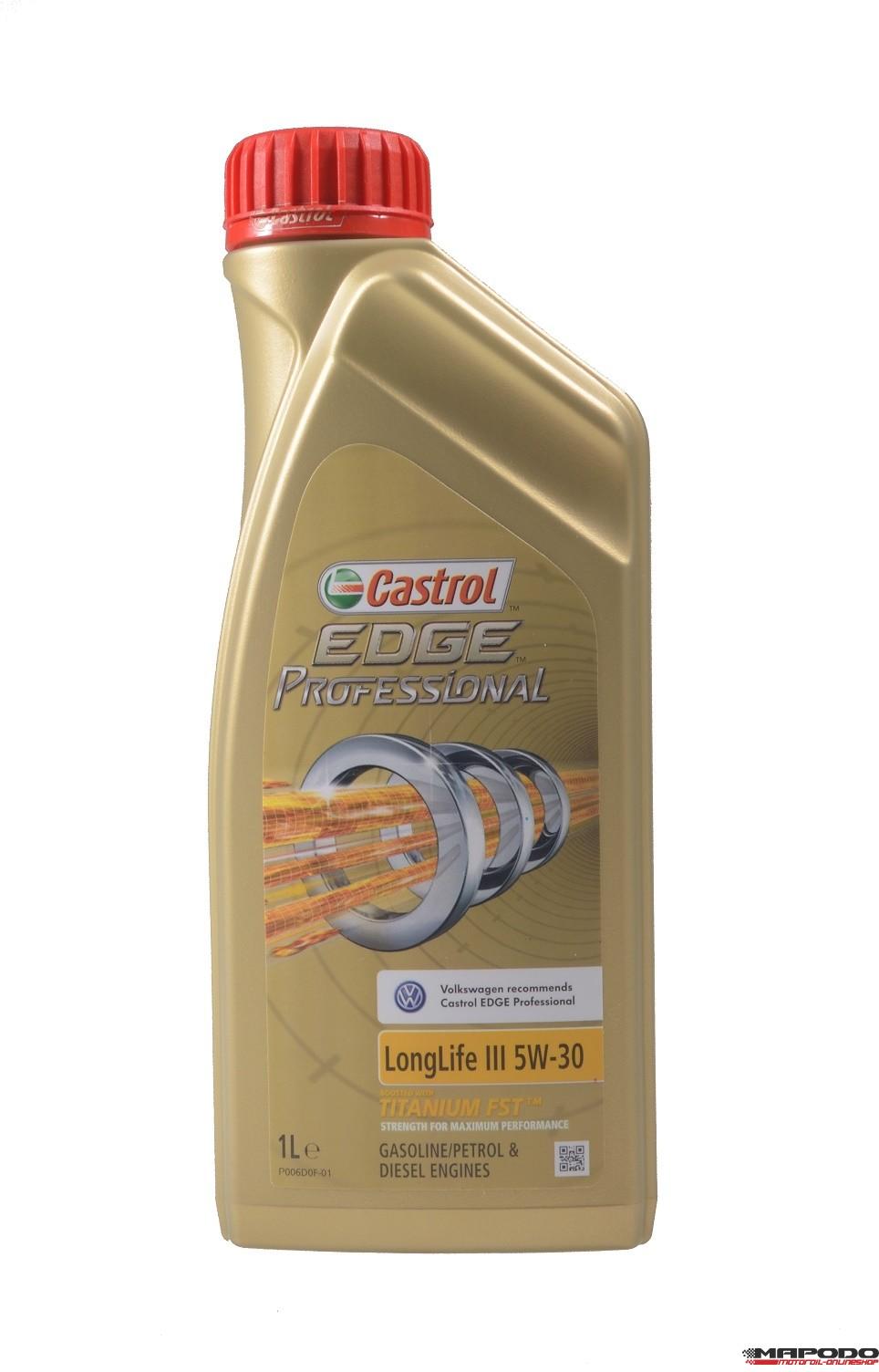 Castrol EDGE Professional LongLife 3, 5W-30 | 1 Ltr.
