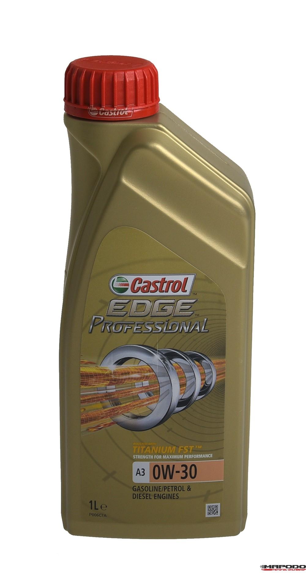 Castrol EDGE TITANIUM FST Professional 0W-30 A3 1L