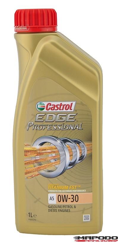 Castrol EDGE TITANIUM FST Professional A5, 0W-30 (Volvo; Ford) | 12x1 ltr.