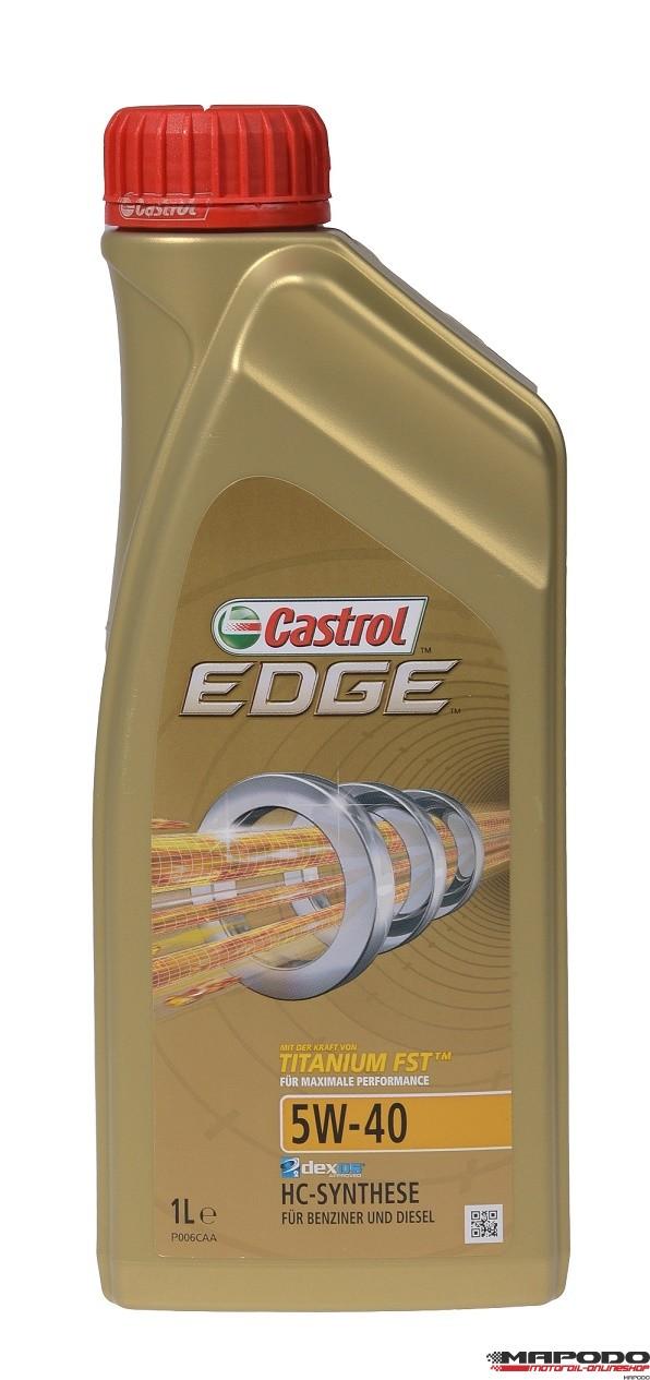 Castrol EDGE TITANIUM FST 5W-40 | 1 ltr.