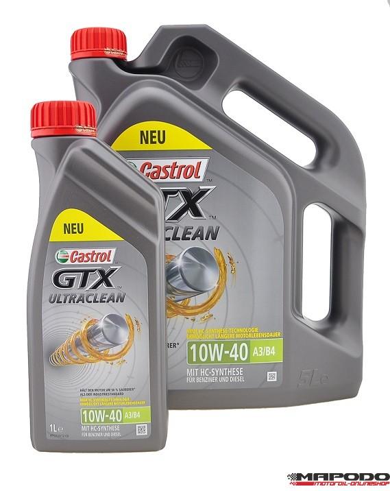 Castrol GTX Ultraclean 10W-40