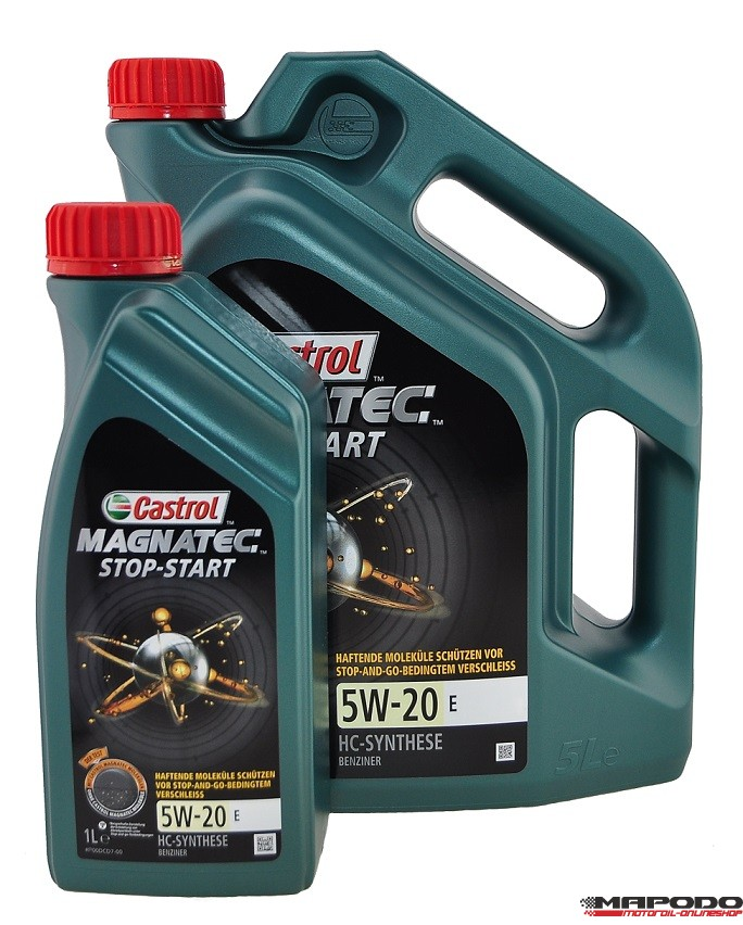 Castrol Magnatec Stop-Start 5W-20 E, FORD EcoBoost | 5 Ltr.