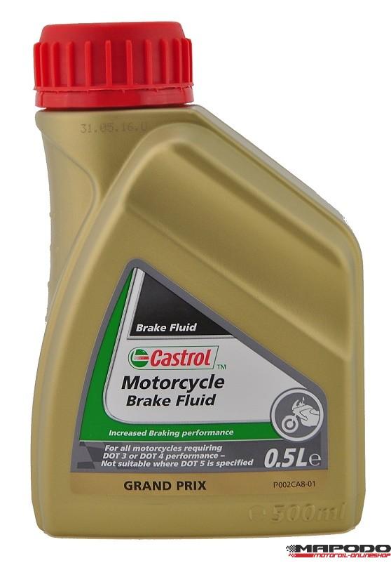 Castrol Motorcycle Brake Fluid, 500ml