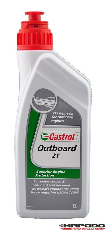 Castrol Outboard 2T 1 ltr.