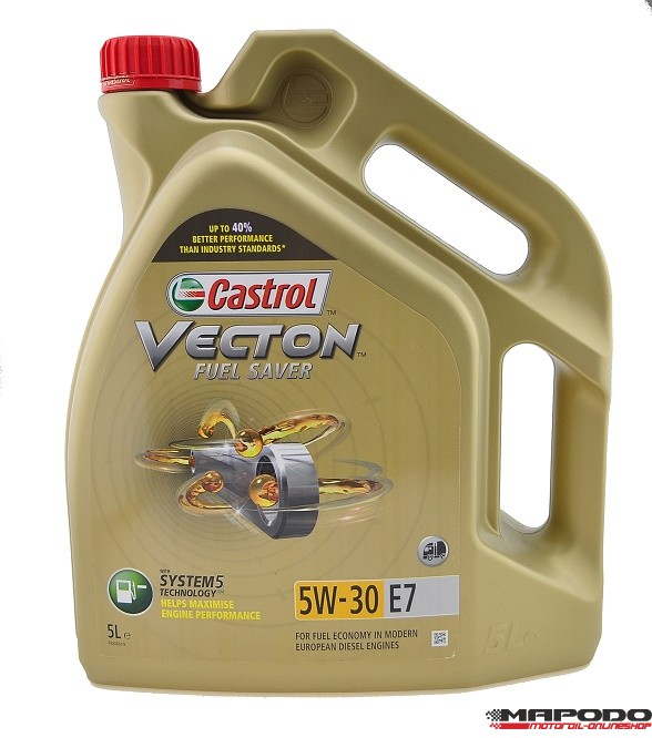 Castrol VECTON Fuel Saver 5W-30 E7 5L