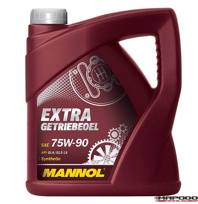 Mannol Extra Getriebeöl 75W-90 API GL 4 / GL 5 LS 4L