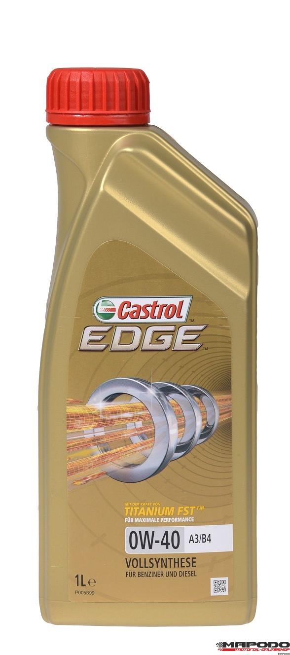 Castrol EDGE Titanium FST 0W-40 A3/B4 | 1 ltr.
