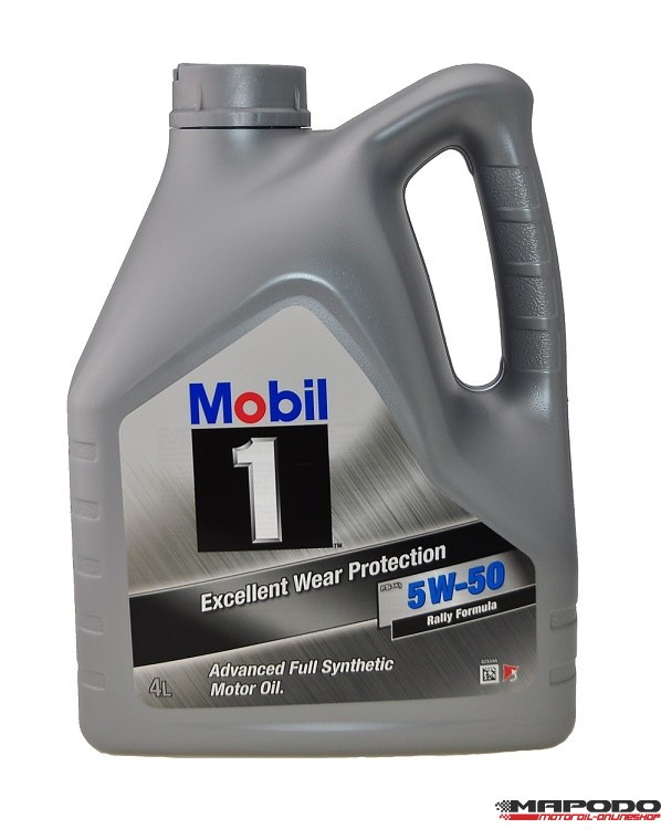Mobil 1 FS x1 5W-50 Rally Formula 4 Liter