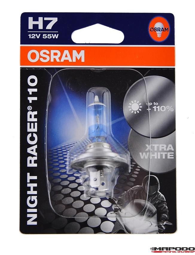 Osram Night Racer H7 +110% mehr Licht