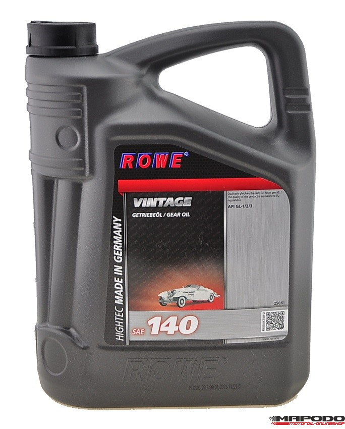 ROWE Hightec Vintage SAE 140 5L