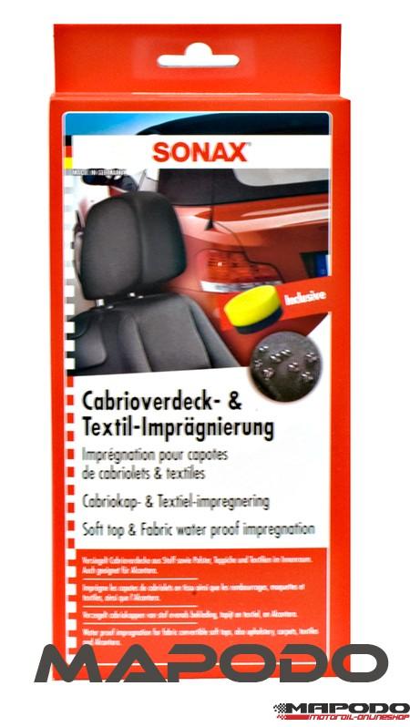 SONAX CabrioVerdeck- & Textilimprägnierung 250ml