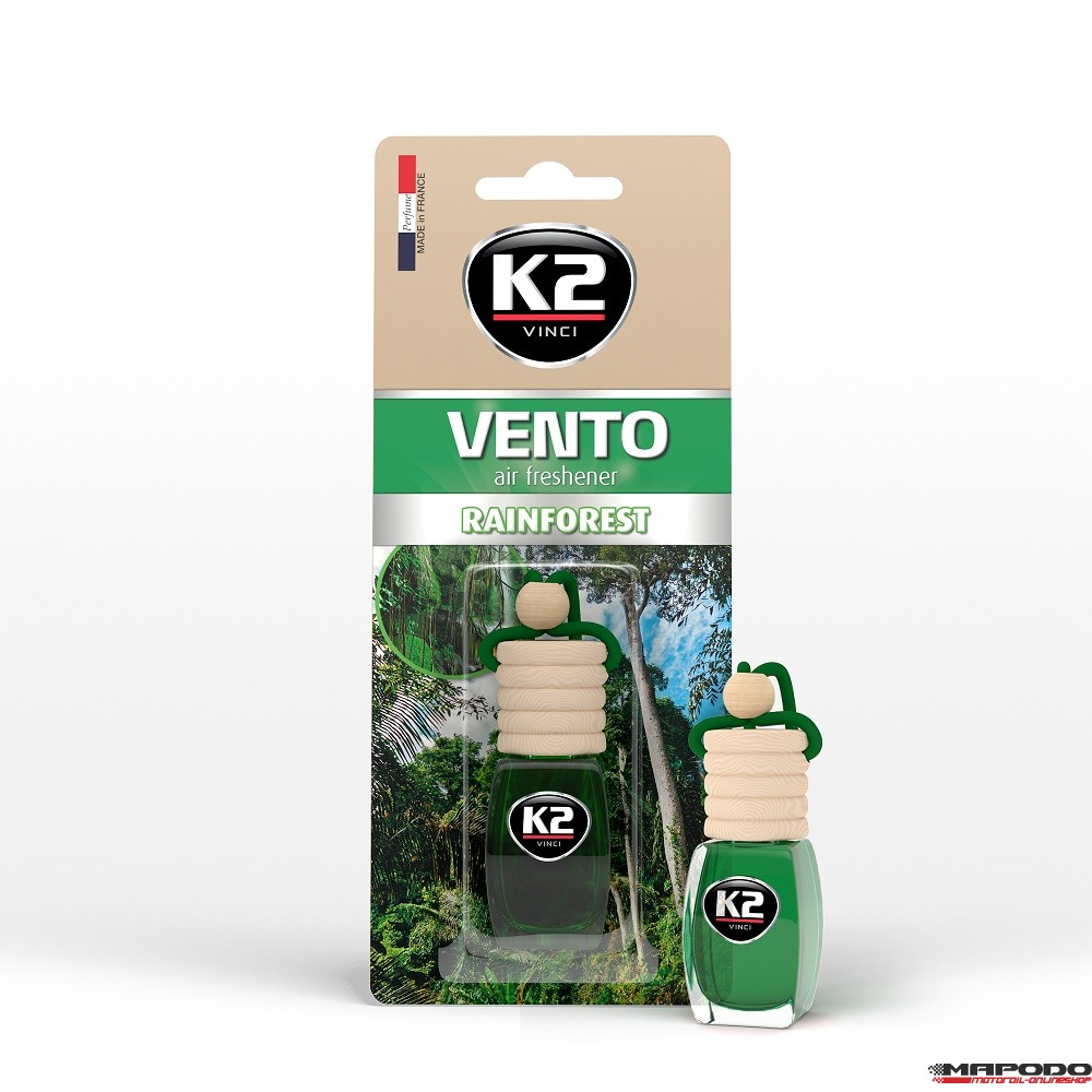 Vento Air Fresh 8ml Rainforest