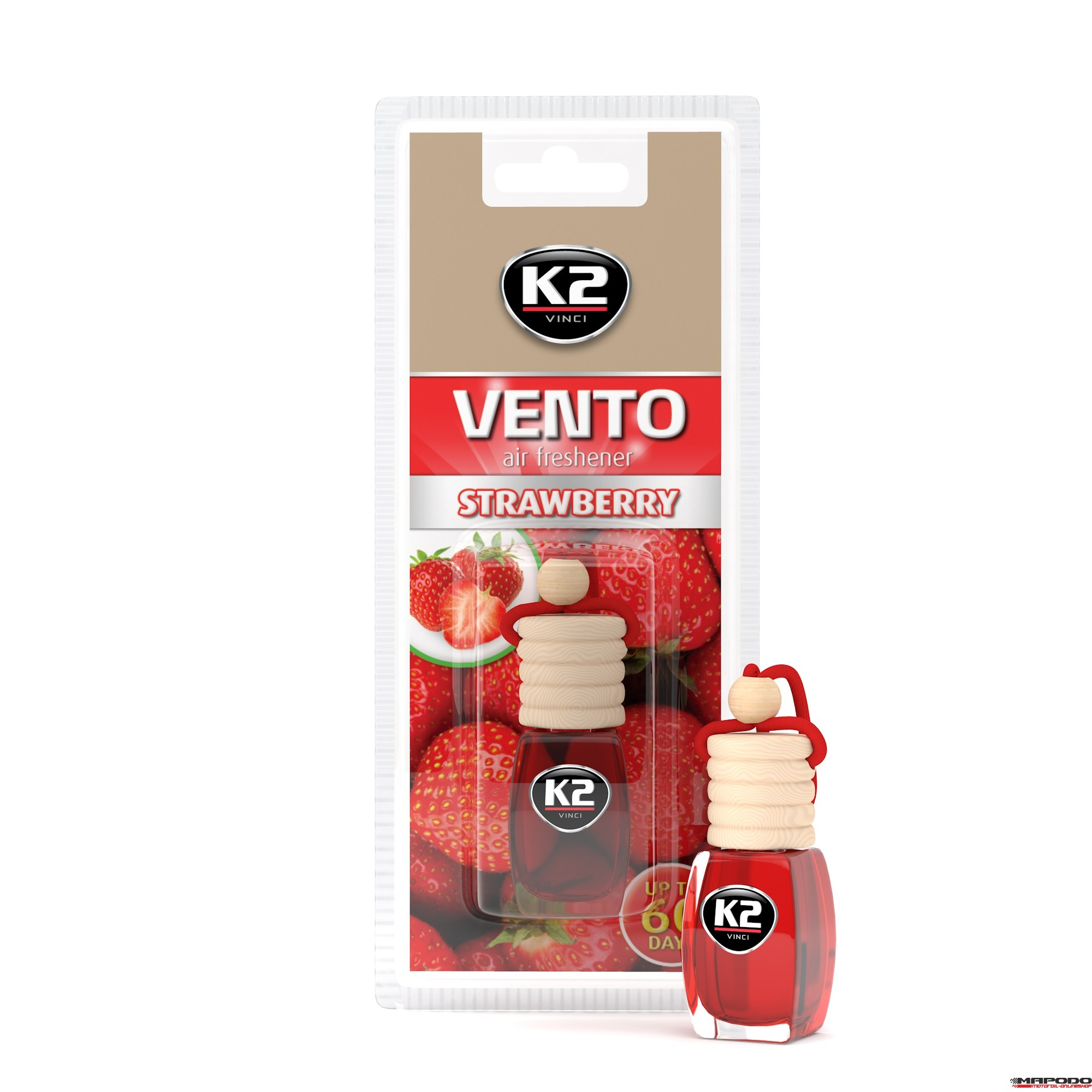 Vento Air Fresh 8ml Strawberry