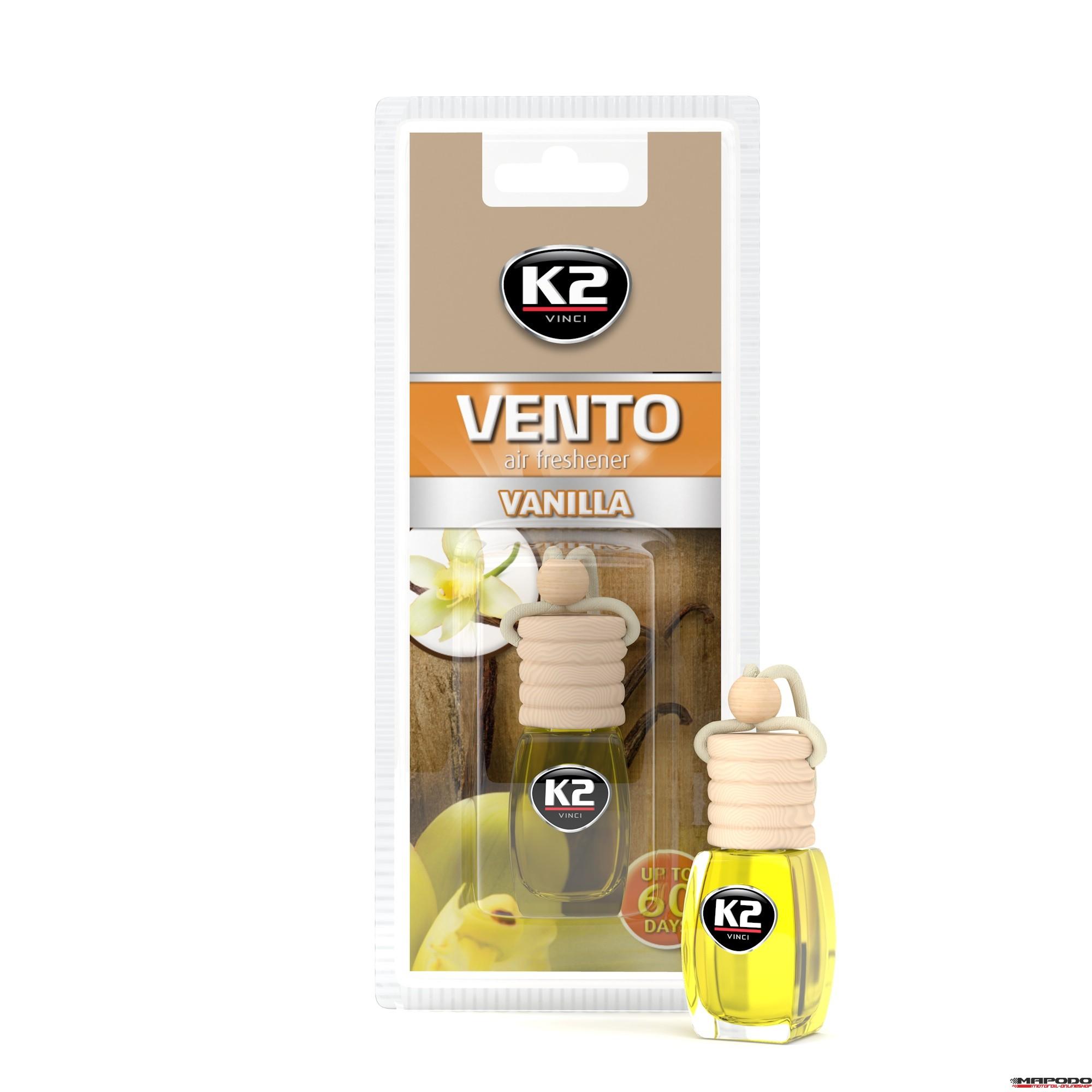 Vento Air Fresh 8ml Vanilla