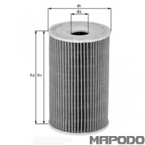 OX 143 D Eco Ölfiltereinsatz