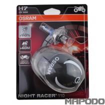Osram Night Racer H7 +110% mehr Licht Doppel Blister (HELM)