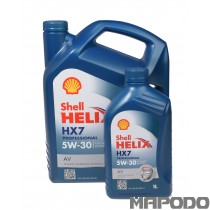 Shell Helix HX7 Professional 5W-30 AV  (VW 502.00/505.01)