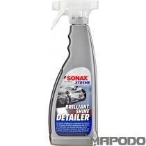 Wenn Restverschmutzungen, Wasserflecken und Staub das Bild eines ansonsten top-gepflegten Automobils trüben, empfehlen wir die Anwendung des SONAX XTREME BrilliantShineDetailer.