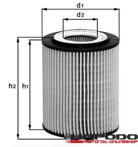 OX 173 D Eco Ölfiltereinsatz
