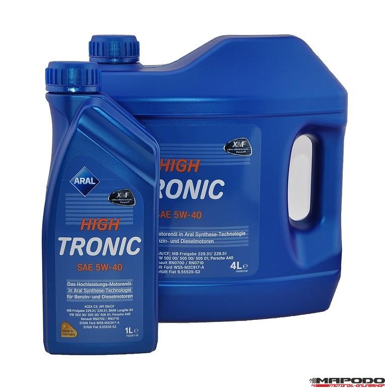 ARAL High Tronic, 5W-40, 4L