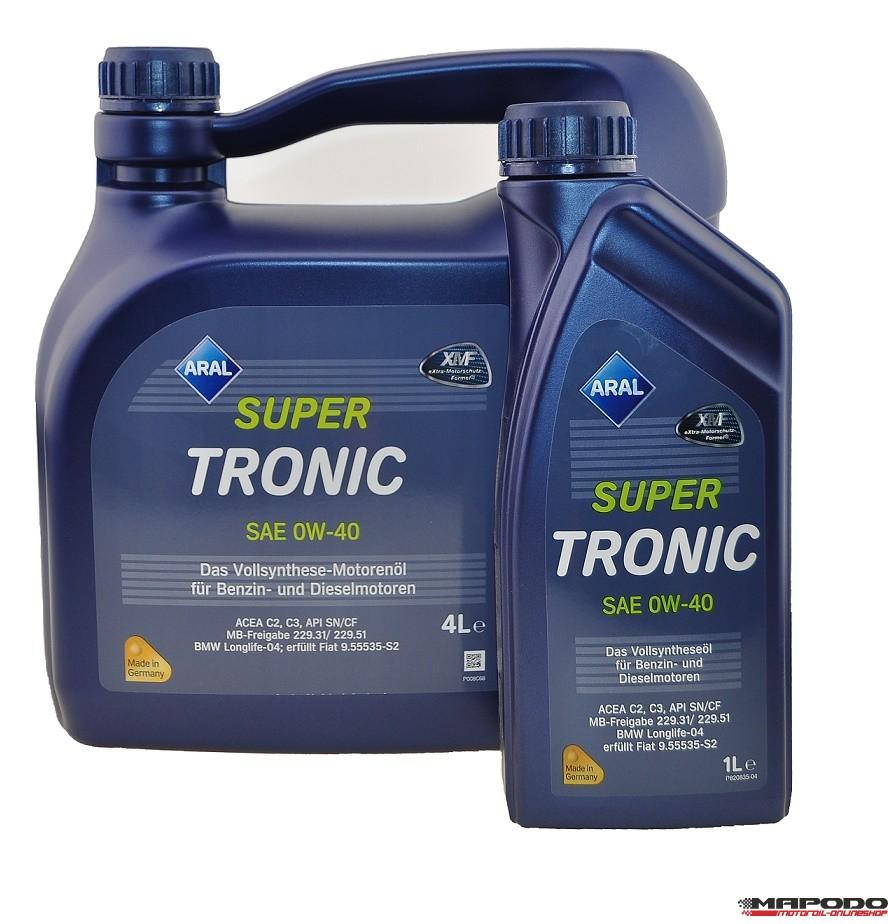 ARAL Super Tronic | 0W-40 | 4 ltr.