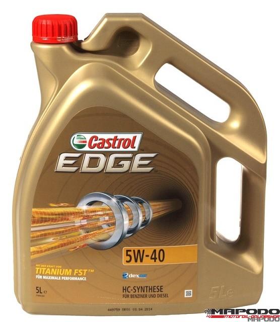 Castrol EDGE TITANIUM FST 5W-40   5 ltr.