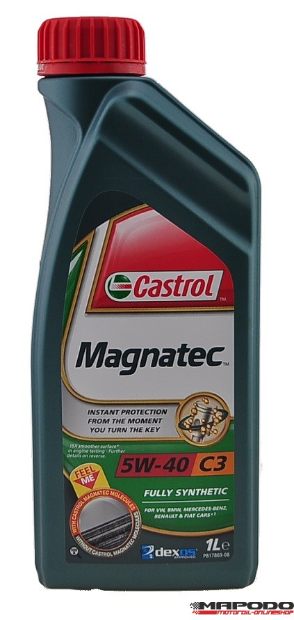 Castrol MAGNATEC 5W-40 C3 | 1 ltr.
