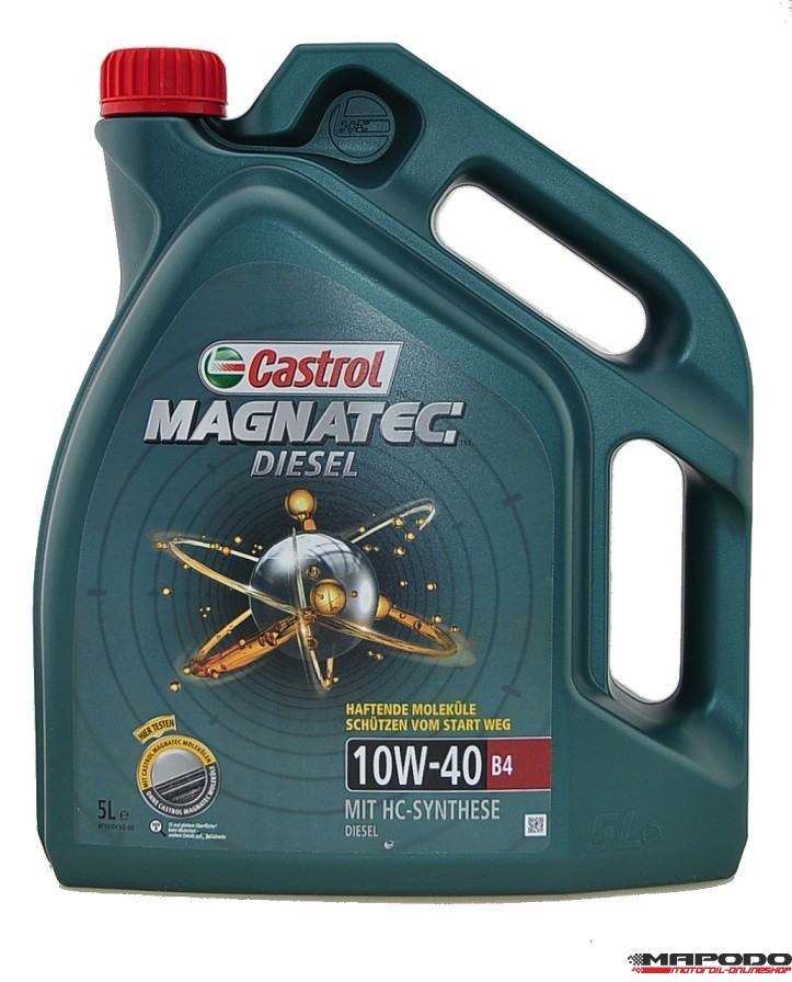 Castrol Magnatec Diesel B4, 10W-40, 5 L