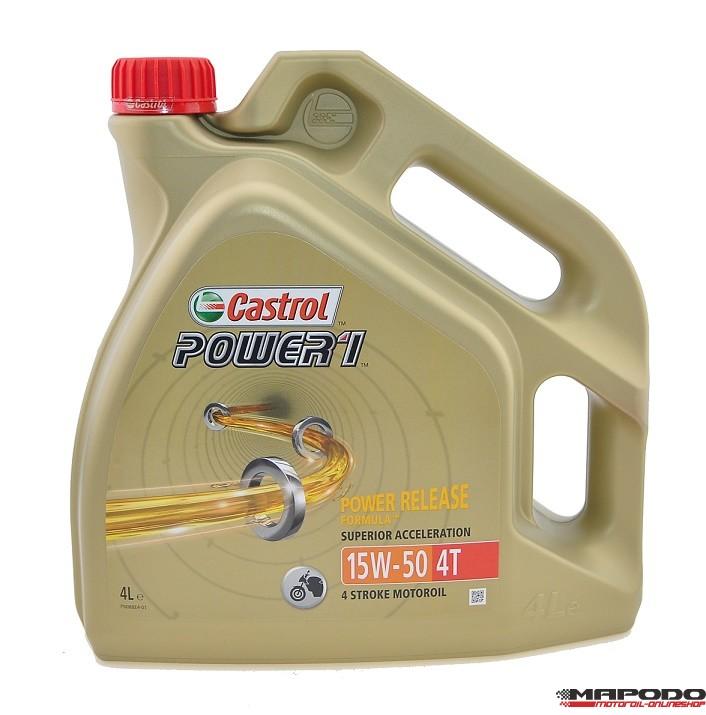CASTROL POWER 1 4T 15W-50