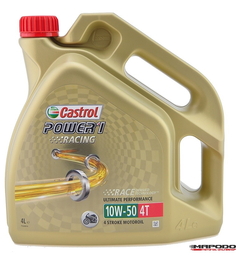 Castrol POWER1 Racing 4T, 10W-50 | 4 ltr.