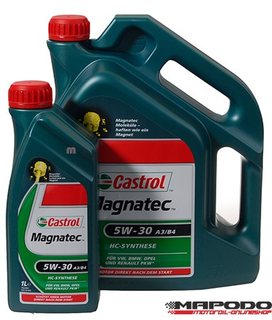 Castrol Magnatec 5W-30 A3/B4, 5L