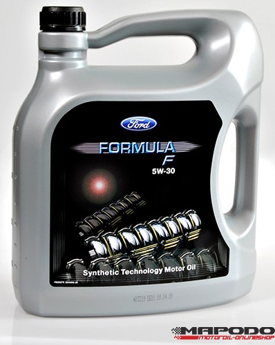 Ford Motoröl Formula F, 5W-30, car manufacturers own brand   5 L