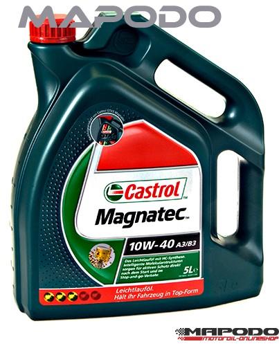 Castrol Magnatec A3/B4, 10W-40 | 5 ltr.