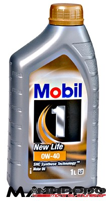 Mobil 1 New Life 0W-40 | 1 ltr.