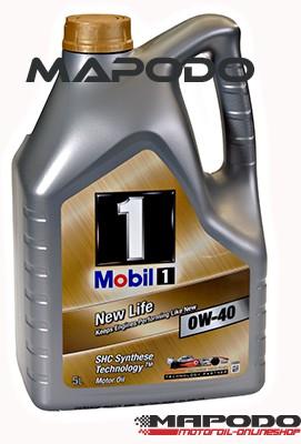 Mobil 1 New Life 0W-40 | 5 ltr.