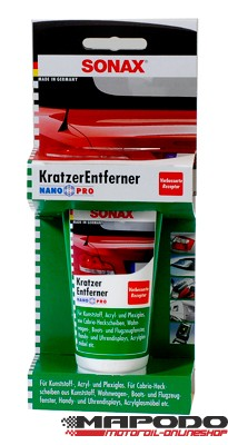SONAX KratzerEntferner Kunststoff NanoPro, 75 ml
