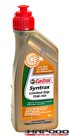 Castrol Syntrax Limited Slip 75W-140   1 Ltr