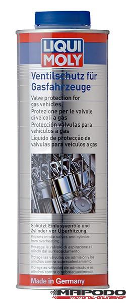 Ventilschutz für Gasfahrzeuge
