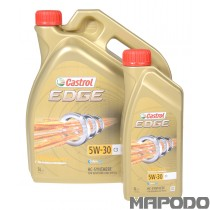 Castrol EDGE TITANIUM FST 5W-30 C3, BMW LL04, DEXOS 2, MB 229.31/229.51