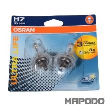 Osram H7 Ultra Life 12V 55W PX26d Glühbirne 64210ULT-02B Duo-Pack