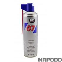 K2 Multipurpose Lubrication Spray 500ml